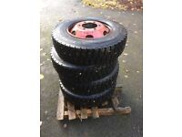 Lorry Tyres Set Of 4 From A Mercedes £400