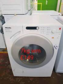 Miele 7kg washing machine free delivery in Oakham