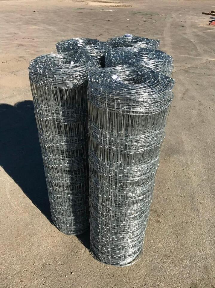 New 330ft Rolls Of Welded Wire Field Fence 4 Ft Galvanized