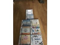 Nintendo ds lite & 7 games
