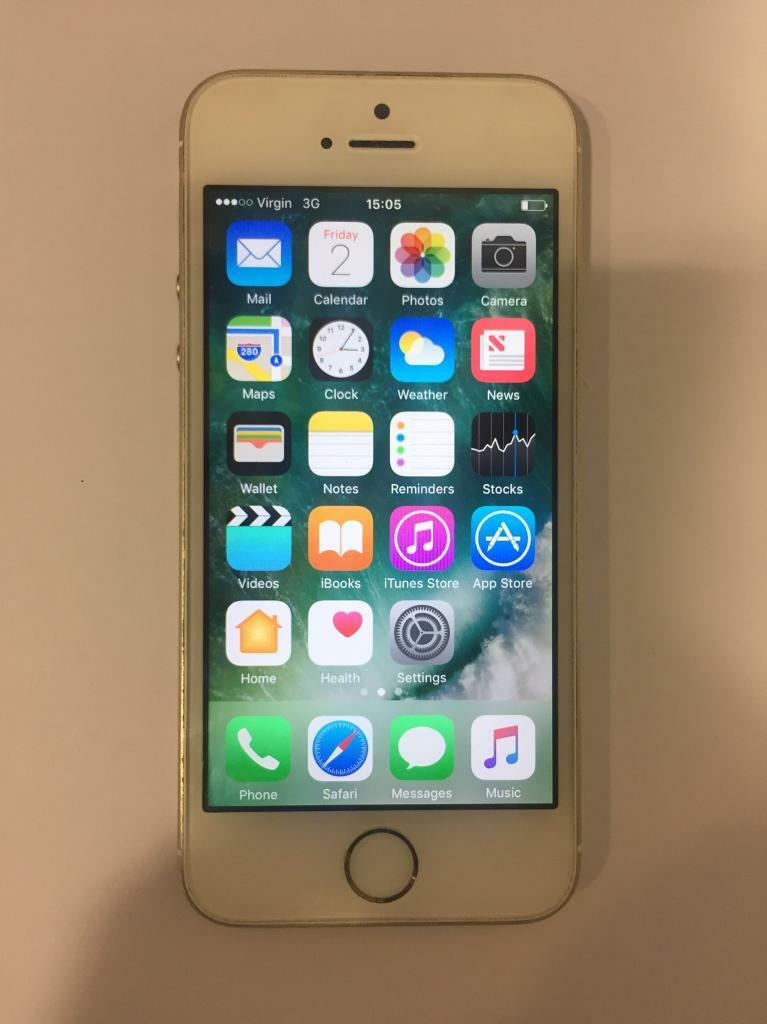 IPHONE 5S 16GB FULLY UNLOCKEDin Hendon, LondonGumtree - IPhone 5s 16gb mint condition only small surface scratches as you can see fully working and open to any network comes with original apple plug, original cable and I will give my iPhone 6 new headphones as wellNo boxreally is great condition! Been...