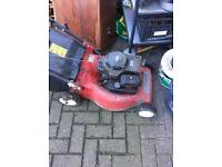 Electric lawn mower good condition.....