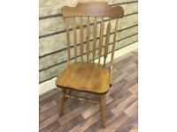 AMERICAN OAK SET OF SIX CHAIRS EXCELLENT CONDITION CAN DELIVER