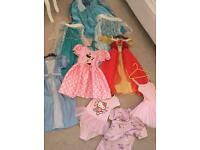 Girls dressing up dresses Minnie hello kitty frozen Elsa 4-5-6
