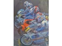 Titled ~ Anticipation ~ and a front row of motorbike legends