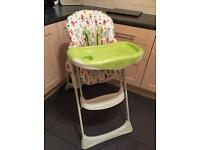 Mamas & Papas Reclining highchair