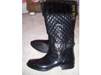 Ladies wellies+winter boots 2 in 1 brand new!!