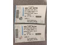 2x Daniel O'Donnell Tickets for Convention Centre Dublin