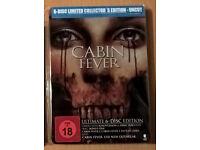 """ULTRA RARE"" Cabin Fever 1-4 Ultimate 6-Disc Edition (Blu Ray Steelbook) £100 o.n.o"