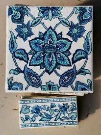 Decorative vintage tiles