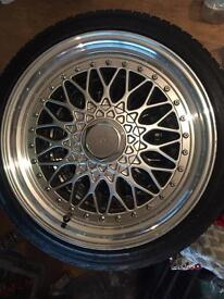 17 inch Alloys + New Tyres