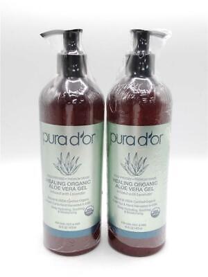 pura d or healing organic aloe vera