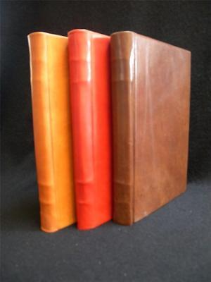 Antique Leather Journals - Handmade Antique-Look Leather Ledger Journal - Traditional Cord-Binding