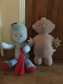 In the Night Garden, Iggle piggle and Macca pacca