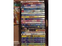 DVDs children's movies barbie spongebob horrid Henry phineas & fern mr bean