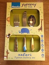 Child's cutlery set