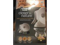 Tommee tippee breast pump brand new