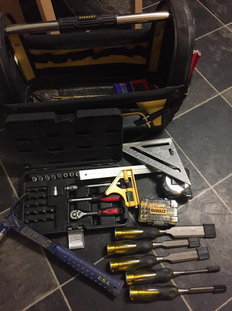Tools box and tools