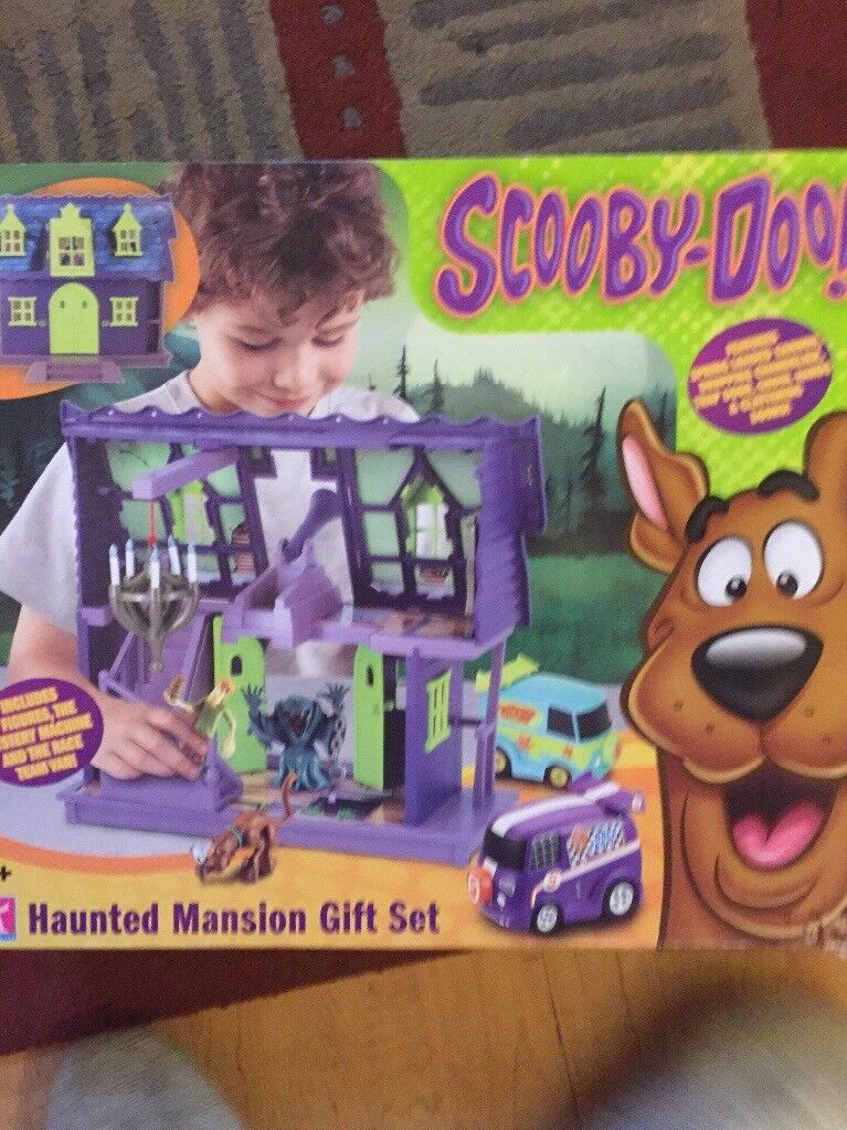 Scooby doo haunted mansion