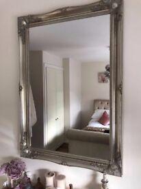 Gold Ornate Lightweight Mirror
