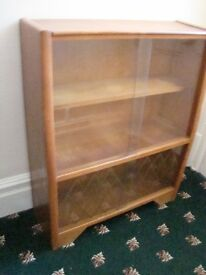 Vintage 50s display cabinet /Bookcase