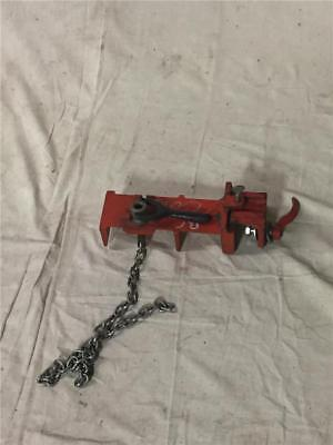 Ridgid No. 464 Flange Pipe Welding Vise 2-12 To 8 Pipe