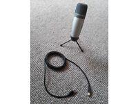 As new Samson C03U Multi-Pattern USB Studio Condenser Microphone (Perfect for youtubers, gamers etc)