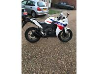 Cbr 125 r-d it's on a 63 plate has data tag