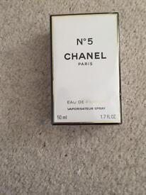 Chanel No5 50ml - new unopened (still sealed)