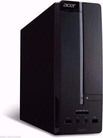 Media/Gaming PC, i3 3.3ghz (2nd gen) Really Small, R7 250 GPU, 6gb RAM, HDMI