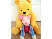 Large Winnie The Pooh Nightdress pj case, Piglet,Disney baby Winnie The Pooh fleece boots