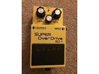 Boss SD-1 Super Overdrive - Guitar Effects Pedal