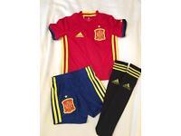 Boys Spain Football Strip 2-3 years