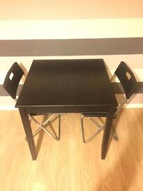 Ikea Dining table with chairs(QUICK SALE)