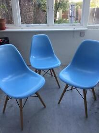 Chairs Eames inspired 3