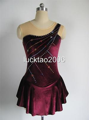 Gorgeous Figure Skating Dress Ice Skating Dress #6347-4 size 16