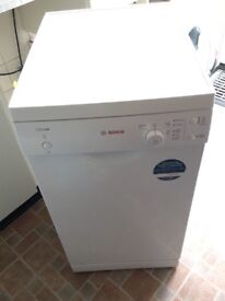 Excellent Bosch Dish Washer with Cleaning products