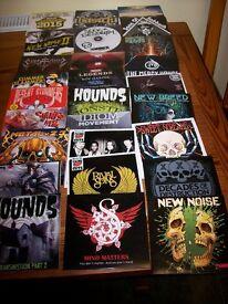 Assorted metal Rock CD'S