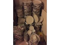 New Plates and Bowls 500-600 Pieces £100-120 cheap!!!