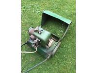 Suffolk cylinder petrol lawn mower