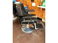 BARBER CHAIR FOR SALE.GOOD CONDITION from leicester