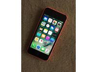 iPhone 5C Unlocked pink Good condition