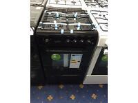 New Ex-Display Statesman Studio 50cm Black Gas Cooker 2 Year Guarantee £199