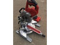 Milwaukee m18sms216-0 cordless mitre saw 216mm 5.0ah chopsaw