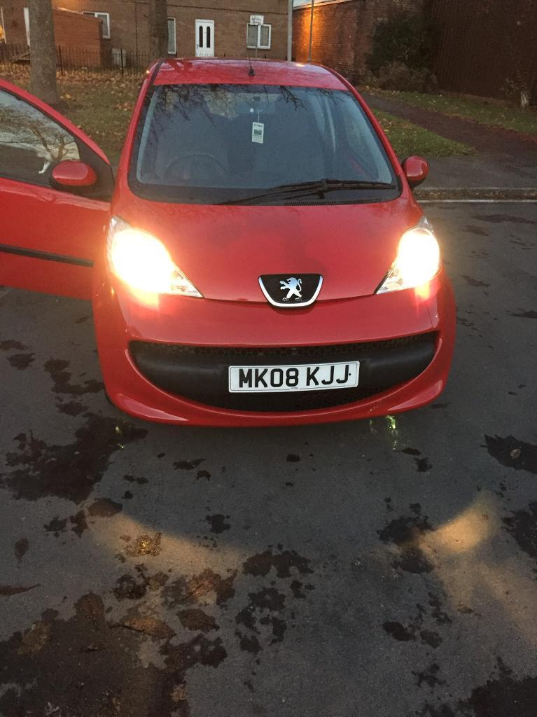 Peugeot 107 3 Door red1.0 cheap on insurance n tax
