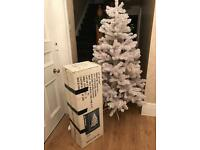 6 foot white Xmas tree