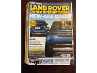 26 Land Rover magazines
