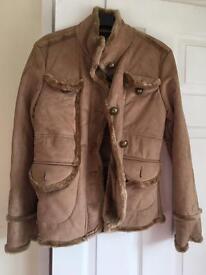 New suede jacket