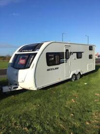 2014 STERLING ECCLES 636 - 6 BERTH - *FIXED BUNKS* - TWIN AXLE TOURING CARAVAN