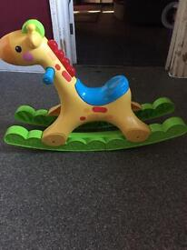 Rocking Giraffe toy